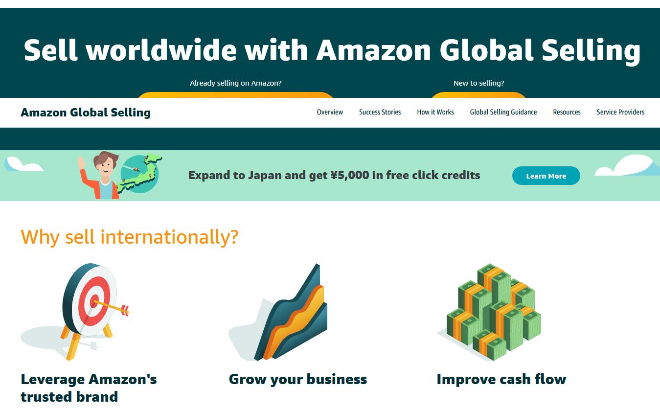 Amazonグローバルセリング