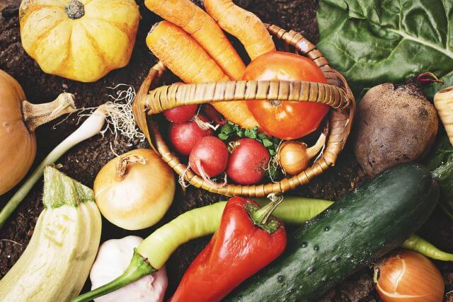 自分で育てた野菜