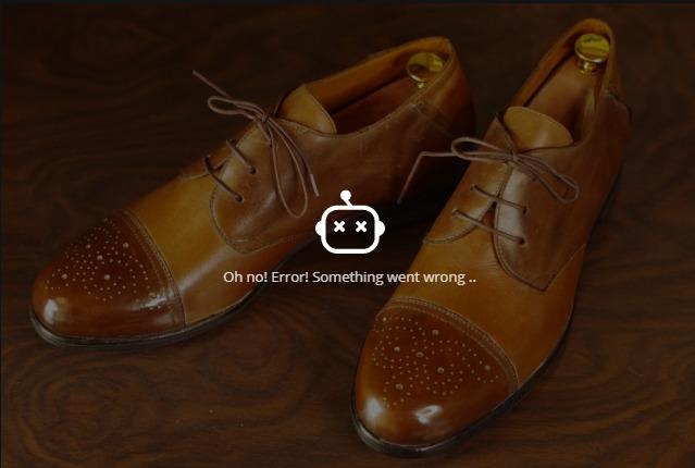 PIXLRで靴画像の透過処理に失敗しました