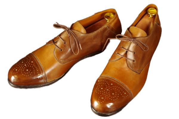 clippingACで透過処理した革靴の画像